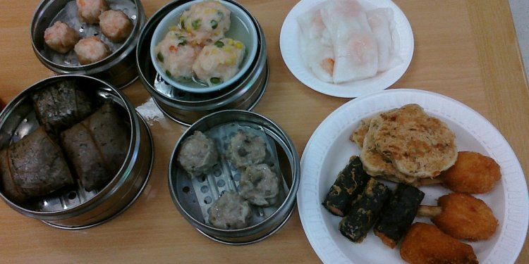 Dim Sum for lunch @ Yum Cha Cafe, Linda Vista