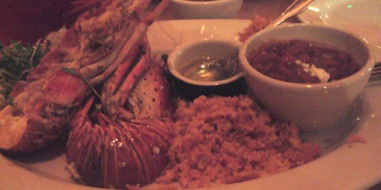 Puerto Nuevo style Lobster