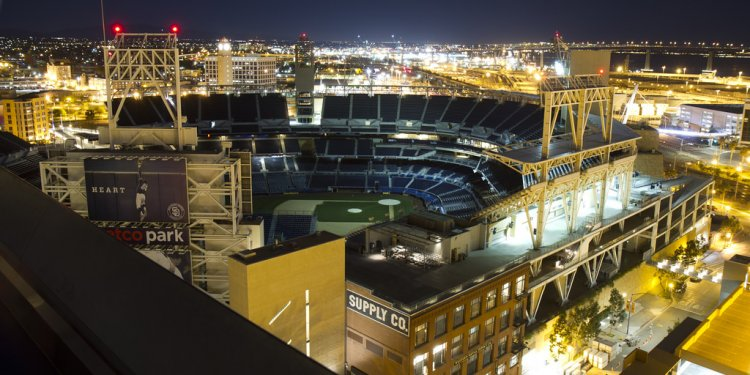 View of Petco Park from