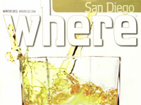 San Diego Where Magazine December 2012