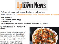 Uptown News Article on Isola
